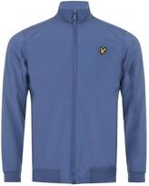 Lyle & Scott Funnel Neck Soft Shell Jacket Blue