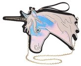 Charlotte Russe Holographic Unicorn Crossbody Bag