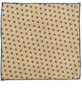 Canali flower spot pocket square