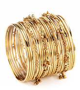 Amrita Singh Gold Mumbai Bangle Set
