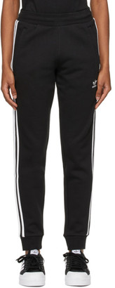 adidas Black 3-Stripes Track Pants