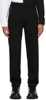 Neil Barrett Black Knit Lounge Pants