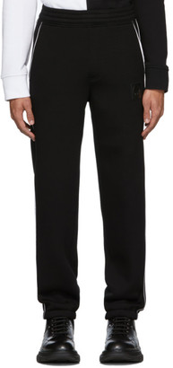 Neil Barrett Black Knit Lounge Pants