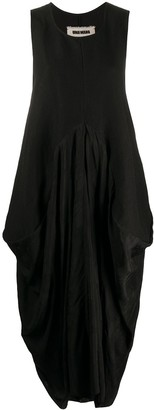 UMA WANG Oversized Draped Dress