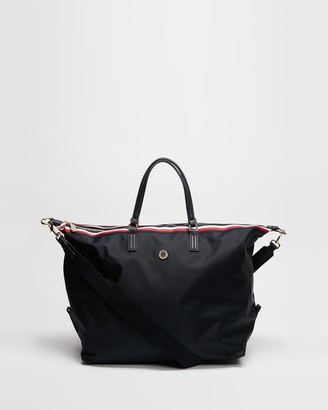 Tommy Hilfiger Women's Navy Weekender - Poppy Weekender Bag - Size One Size at The Iconic