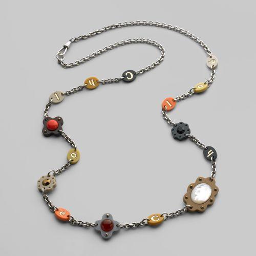 Chloé Suzane Flower Necklace
