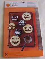 Martha Stewart Pumpkin Face Cupcake Stencils