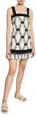 Alexis Bijou Tassel Sleeveless Short Dress