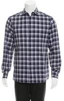 DSQUARED2 Check Print Button-Up Shirt