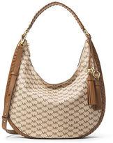 MICHAEL Michael Kors Lauryn Large Logo-Print Shoulder Bag