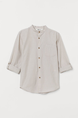 H&M Grandad shirt