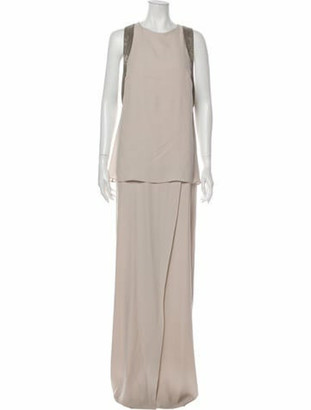 Brunello Cucinelli Silk Long Dress w/ Tags