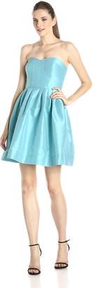 Donna Morgan Women's Madison Strapless Dress