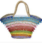 Mystique Pom-Pom Beach Bag