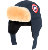 Canada Goose Micro ripstop down hat with a fleece lining - Navy blue