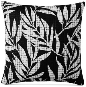 "Charter Club Closeout! Damask Designs Palm 110-Thread Count 20"" x 20"" Decorative Pillow, Created for Macy's Bedding"