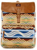 UGG Kolman Pendleton Leather Trimmed Backpack