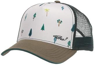Prana La Viva Trucker (Cargo Green Trees) Caps