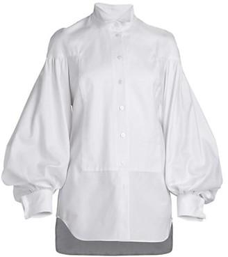 UNTTLD Damian Puff-Sleeve Shirt