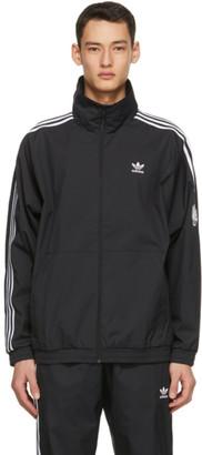 adidas Black 3D Trefoil Track Jacket