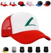 PopCrewTM[Embroidered Team Trainer Hat] Pokemon Cosplay Costume