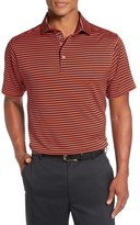 Bobby Jones 'Feed Stripe - XH20' Stretch Golf Polo
