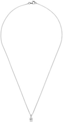 As 29 18kt white gold Mye diamond pendant necklace