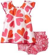 Masala Flutter 2 Piece Set (Baby) - Pink-3-6 Months