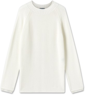 Jigsaw Long Slouchy Split Jumper