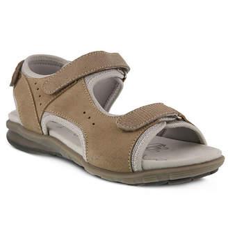Spring Step Womens Nonna Slingback Strap Flat Sandals