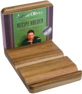 Jamie Oliver Acacia Wood Recipe Book and Tablet Holder