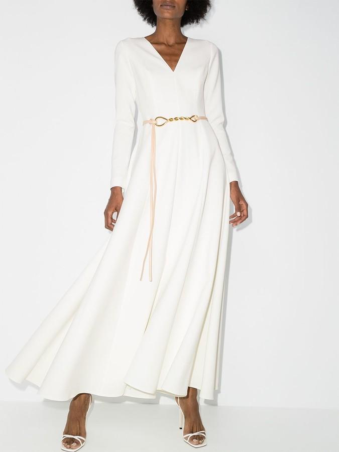 Thumbnail for your product : Carolina Herrera A-line maxi dress