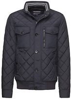 Tommy Hilfiger Diamond Quilted Jacket, Midnight