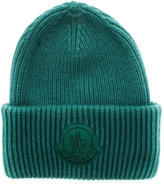 MONCLER GENIUS Moncler 1952 Logo Patch Ribbed Beanie