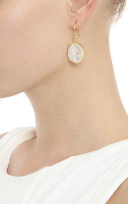 Irene Neuwirth Women's Gemstone Double-Drop Earrings-Colorless