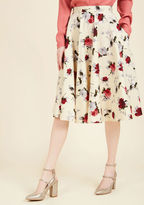 Hell Bunny Perfectly Put Together Midi Skirt in L
