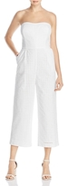 Laundry by Shelli Segal Strapless Eyelet Jumpsuit