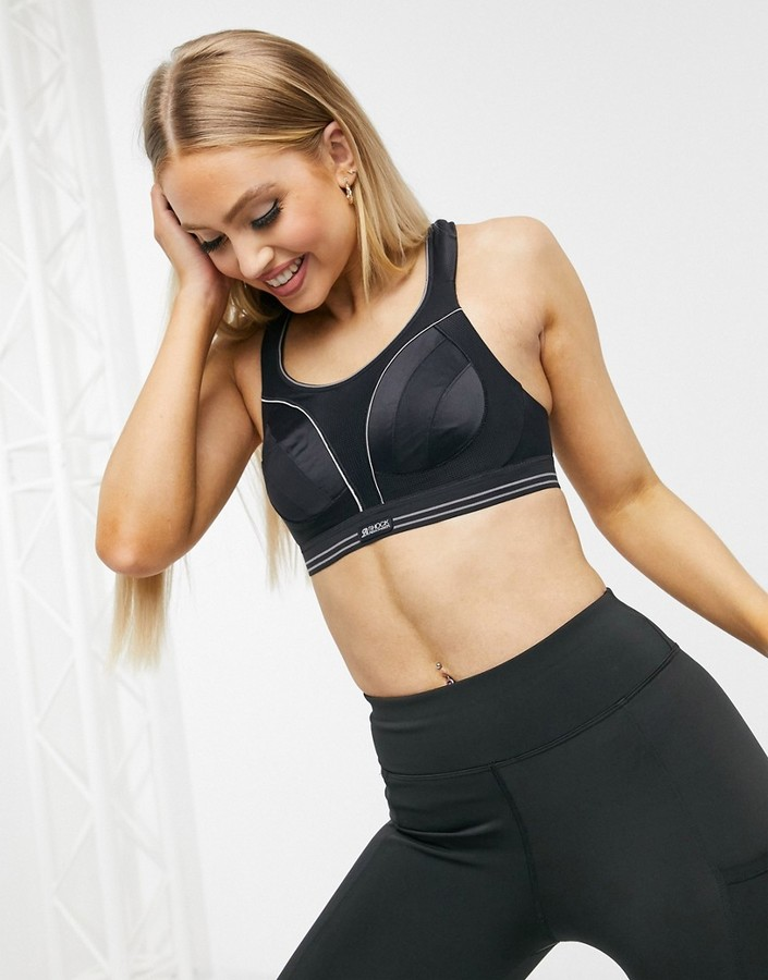 Thumbnail for your product : Shock Absorber Ultimate Run extreme high support sports bra in black