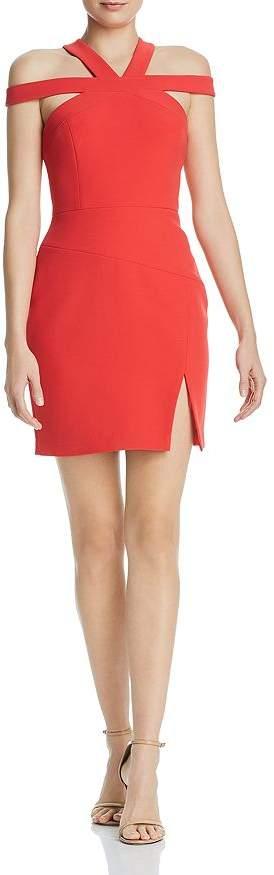 BCBGMAXAZRIA Cutout Cocktail Dress