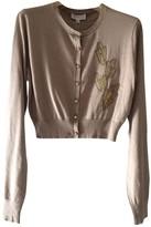 agnès b. Beige Silk Knitwear for Women
