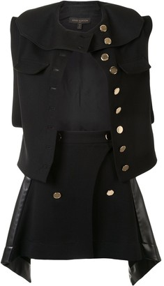 Louis Vuitton Pre-Owned Waistcoat And Skirt Suit