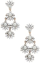 Sole Society Champagne Statement Earrings
