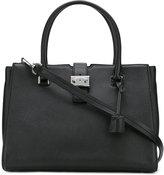 MICHAEL Michael Kors padlock square shoulder bag