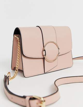 Asos Design DESIGN ring detail cross body bag
