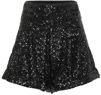 Isabel Marant Orta high-rise sequined shorts