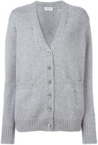 Saint Laurent distressed knit cardigan
