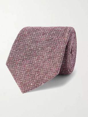 JAMES PURDEY & SONS Silk-Jacquard Tweed Tie