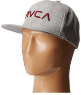 RVCA Twill Snapback Baseball Caps