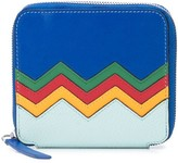 M Missoni Embroidered Zigzag Zipped Wallet