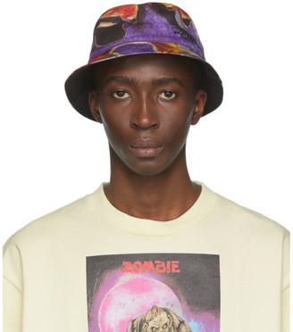 Acne Studios Multicolor Monster in My Pocket Edition Bucket Hat